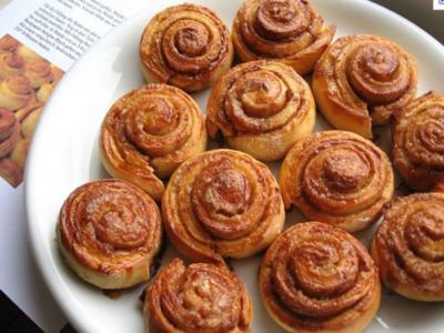Zimtbrötchen schwedisch - Rezept