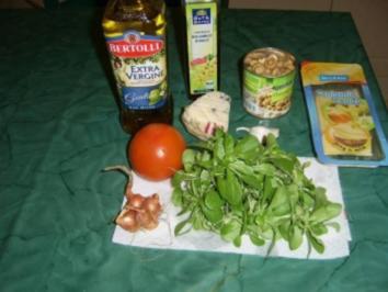 Gemischter Rapünzchensalat - Rezept