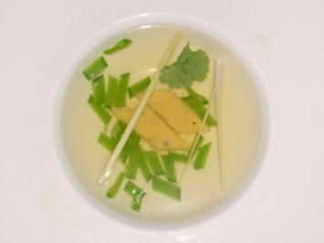 Zitronengras-Essenz an Pfefferpolenta - Rezept