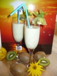 Kiwi-Shake - Rezept
