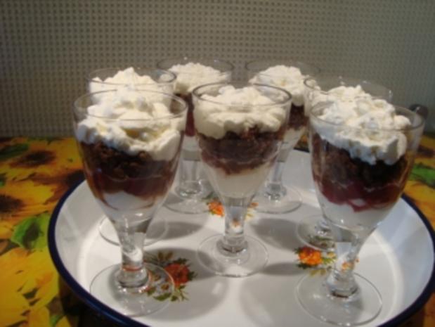 *Dessert - Kirschen-Dessert - Rezept - Bild Nr. 2