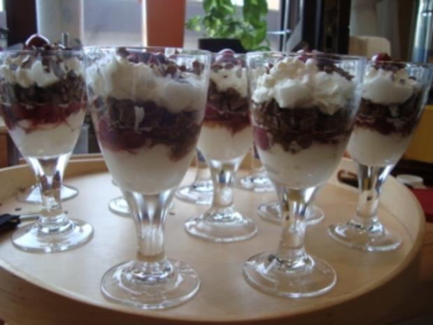 *Dessert - Kirschen-Dessert - Rezept