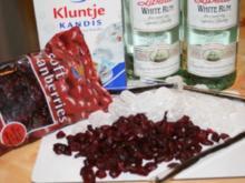 Cranberrie Likör - Rezept