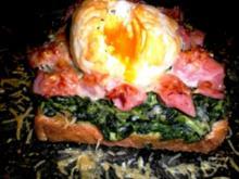 VORSPEISE: Toast überbacken - Rezept