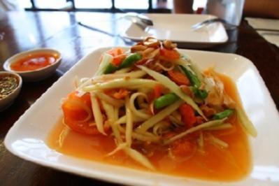Rezept: Som Tam Thai ( Papaya Salat)
