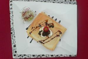 Ziegenfrischkäse-Lasagne mit Trüffel und Honig - Rezept