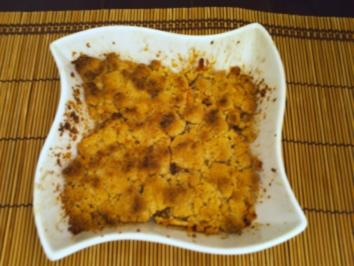 """Apple Crumble"" -  engl. Art - Rezept"