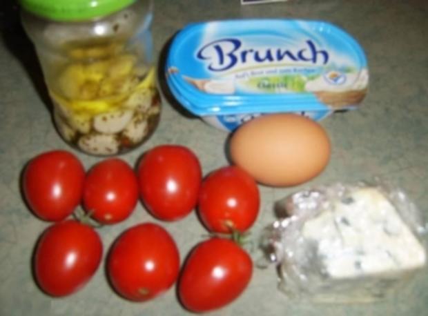 Tomate mit Knoblauch zum Abnehmen