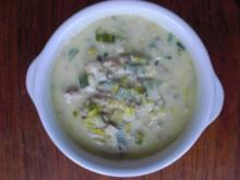 Porree Käse Suppe - Rezept