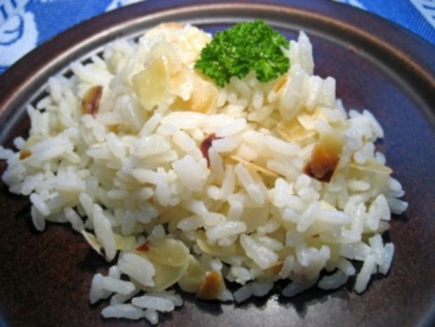 Butter-Mandel-Reis ... - Rezept - Bild Nr. 2