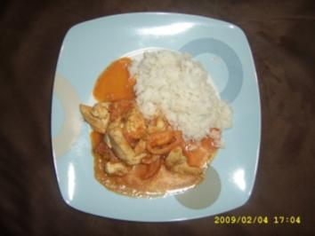 Hähnchen - Curry - Rezept