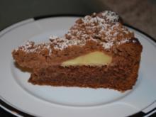 Spanischer Apfelkuchen mit Streuseln - Rezept