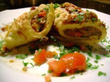Pfannkuchen: Gefüllte Gemüsepfannkuchen - Rezept