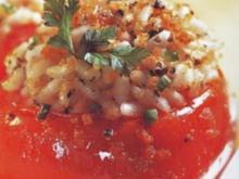 antipasti gefullte tomaten mit reis - Rezept