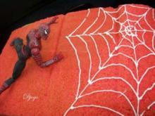 Spiderman Kuchen - Rezept