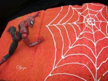 Rezept: Spiderman Kuchen