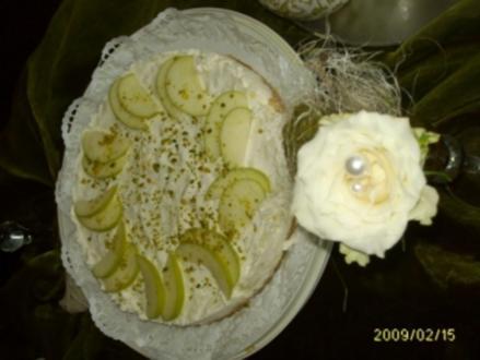 Cremige Apfeltorte - Rezept