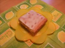 Zitronenkuchen vom Backblech - Rezept