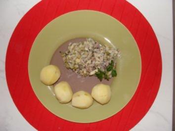 Rezept: Fisch :  -Matjes-Tatar-