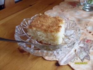 Buttermilch- Kokos- Kuchen - Rezept