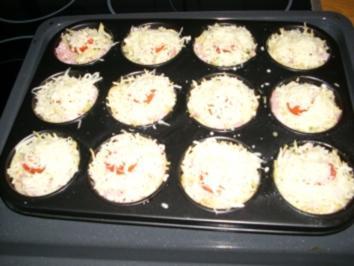 Rezept: Spaghetti- Muffins