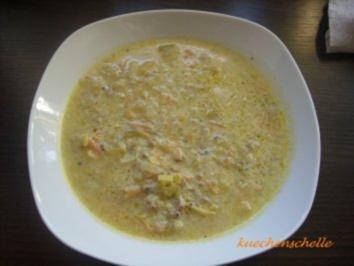 Käse_Lauch-Suppe - Rezept