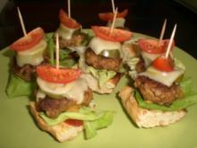 Burgertürmchen - Rezept