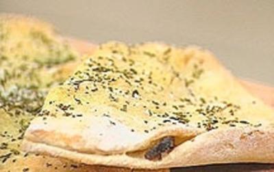 Gefüllte Pizzabrote - Rezept