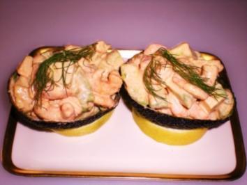 VORSPEISE: Avocado-Krabben-Cocktail - Rezept