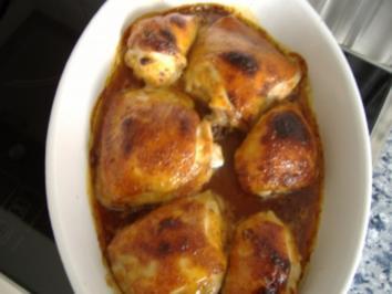 Hähnchen mit Honigsauce - Rezept
