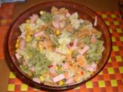 Nudelsalat Tricolore - Rezept