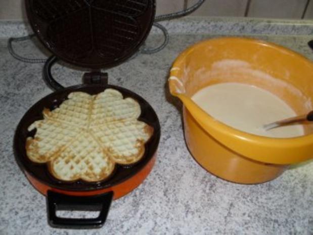 Kuchen - Das beste Waffelrezept die Hälfte - Rezept - Bild Nr. 4