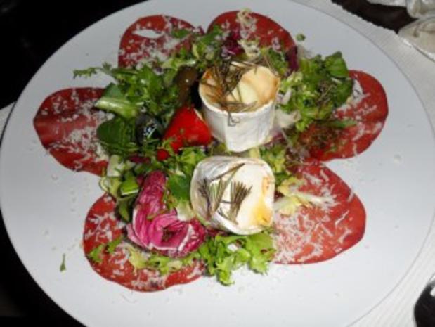 Valentins-Menü Teil 1, Salat-Vorspeise - Rezept - Bild Nr. 2