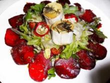 Valentins-Menü Teil 1, Salat-Vorspeise - Rezept