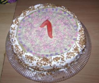 **Buttercremetorte**  Princess-Cake - Rezept