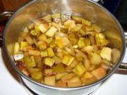 Eingemachte Wassermelonenrinde - Rezept