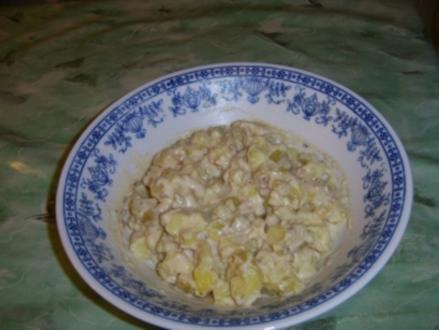 Warmer Kartoffelsalat aus Thüringen - Rezept