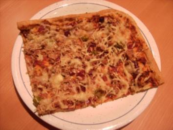 """Unsere Lieblings-""""Pizza"""" - Rezept"""