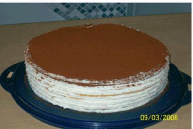 Drei-Tage-Torte - Rezept