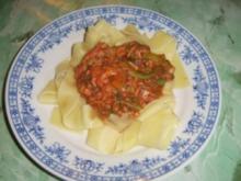 Thunfisch-Bohnen-Tomatensauce - Rezept