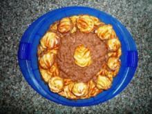 Windbeutel Sahne Torte - Rezept