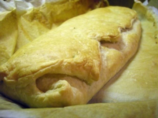 Mehlspeisen: Mohn-Apfel-Verstrudelung - Rezept