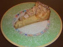 Apfelkuchen mit Mandelcreme - Rezept