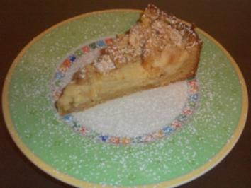 Rezept: Apfelkuchen mit Mandelcreme
