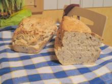 Weißbierbrot mit Leinsamen - Rezept