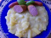 Saures Kartoffelgemüse - Rezept