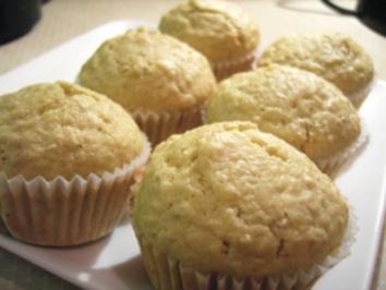 Muffins: Gefüllte Apfelmus-Muffins - Rezept