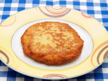 Rezept: Kartoffelpuffer aus Kloßteig