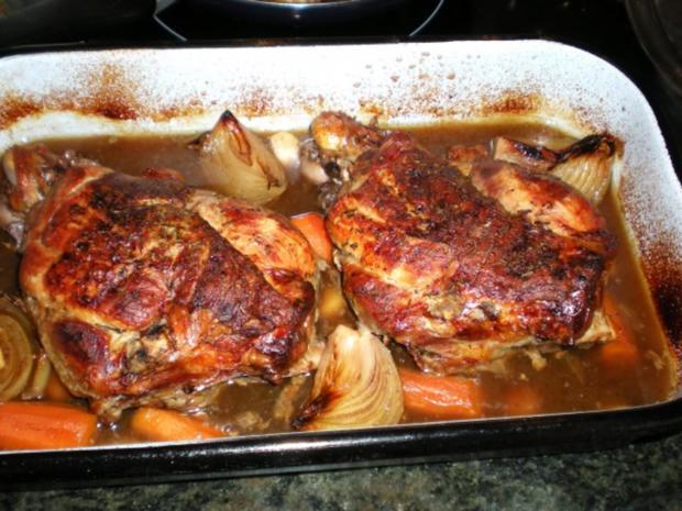 Fleisch Lammkeule Aus Dem Ofen Rezept Kochbarde