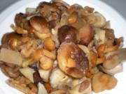 GEMÜSE: Pilzpfanne pikant - Rezept